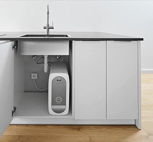 Grohe Blue Home Duo – 2-in-1 Trinkwassersystem und Küchenarmatur (gekühlt, gefiltert, mit Kohlensäure, L-Auslauf) 31454000 - 6