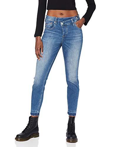 Herrlicher Damen Maze Slim Cropped Denim Cashmere Touch Jeans, real 699, 26