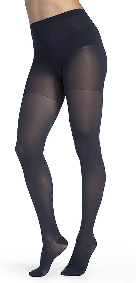 SIGVARIS Women's Style Medium Sheer 750 Closed Toe Pantyhose 20-30mmHg