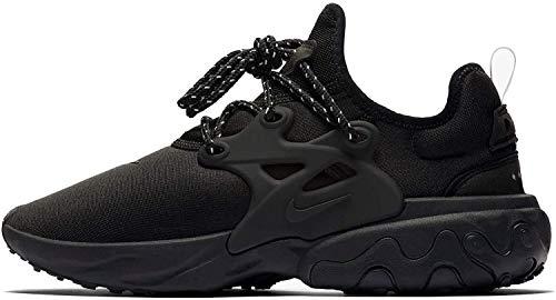 Nike Mens React Presto Black/Black-Electric Green Av2605 004 - Size 9