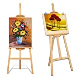 Multiware 150cm support de peinture pliable en bois Artiste trépied Peinture Dessin Chevalet
