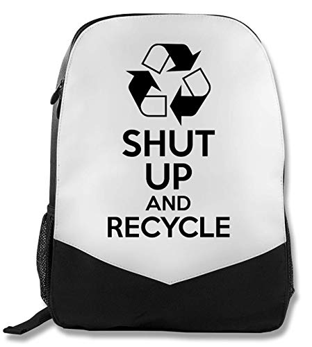 Shut Up and Recycle Rucksack