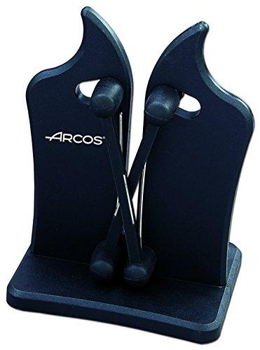 Arcos Afiladores, Afilador Profesional de Cuchillos, Hecho de ABS Color Negro