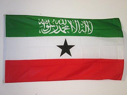 AZ FLAG Flagge Somaliland 150x90cm - Republik Somaliland Fahne 90 x 150 cm - flaggen Top Qualität