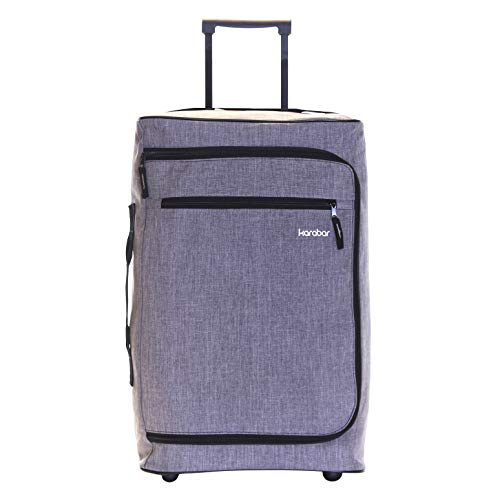 Karabar Cabin Carry-on Hand Luggage Suitcase Bag Super Lightweight 55...