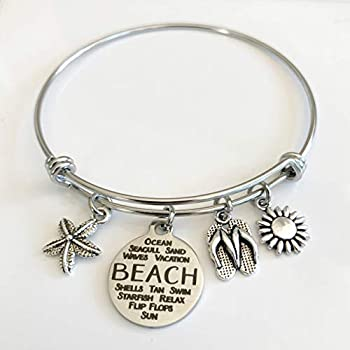 Best beach charm bracelet Reviews