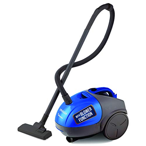 INALSA Vacuum Cleaner Gusto-1000W with Blower Function and 1.5L Reusable Cloth Dust Bag, Powerful...