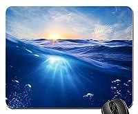 海水水中世界自然マウスパッドマットマウスパッドホットギフト