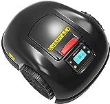 WMING Cortacésped robótico de césped Inteligente eléctrico, Resistente al Agua Carga automática Smart WiFi Protección contra la Lluvia Evitación de obstáculos Temporización Cortacésped antirrobo
