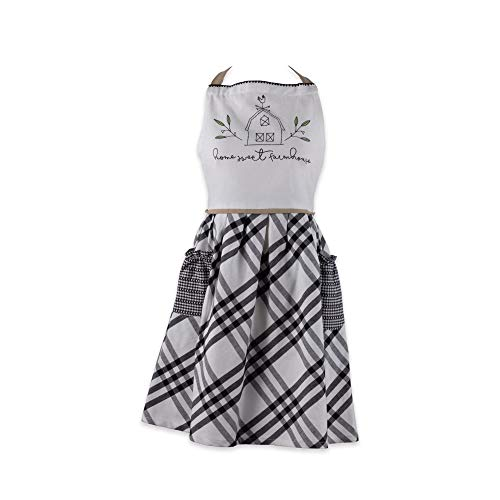 DII Home Sweet Farmhouse Kitchen Textiles Collection Stylish and Functional for Everyday Use, Apron