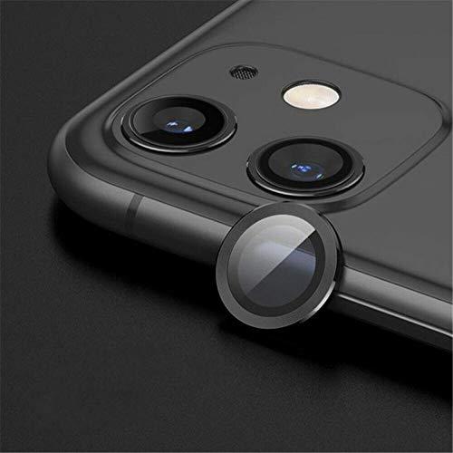 Apto para iPhone 11 12 Mini Pro Max, Threeinone accesorios de teléfono móvil, galvanoplastia, funda magnética para tarjeta de adsorción de la tarjeta de la película protectora de la lente