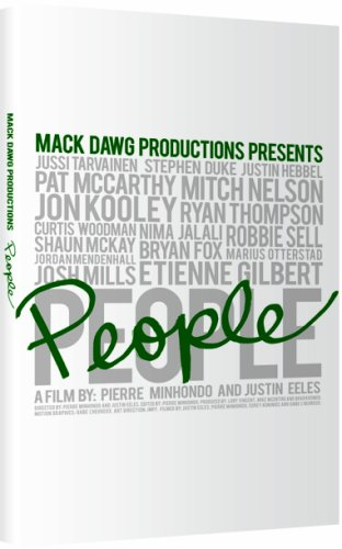 Mack Dawg People Snowboard DVD by Ally Distribution