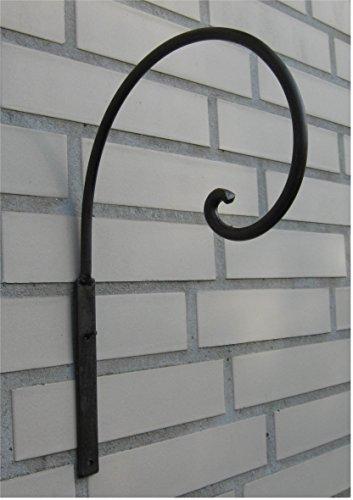 Home3010 Haken Wandhaken für Blumenampel *Metall/Eisen antikbraun* ca. 30 x 20 cm, Landhaus