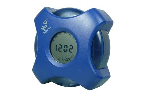 CEBEKIT C0521 CEBEK Reloj Digital MULTIFUNCION-Funciona con Agua, Amarillo