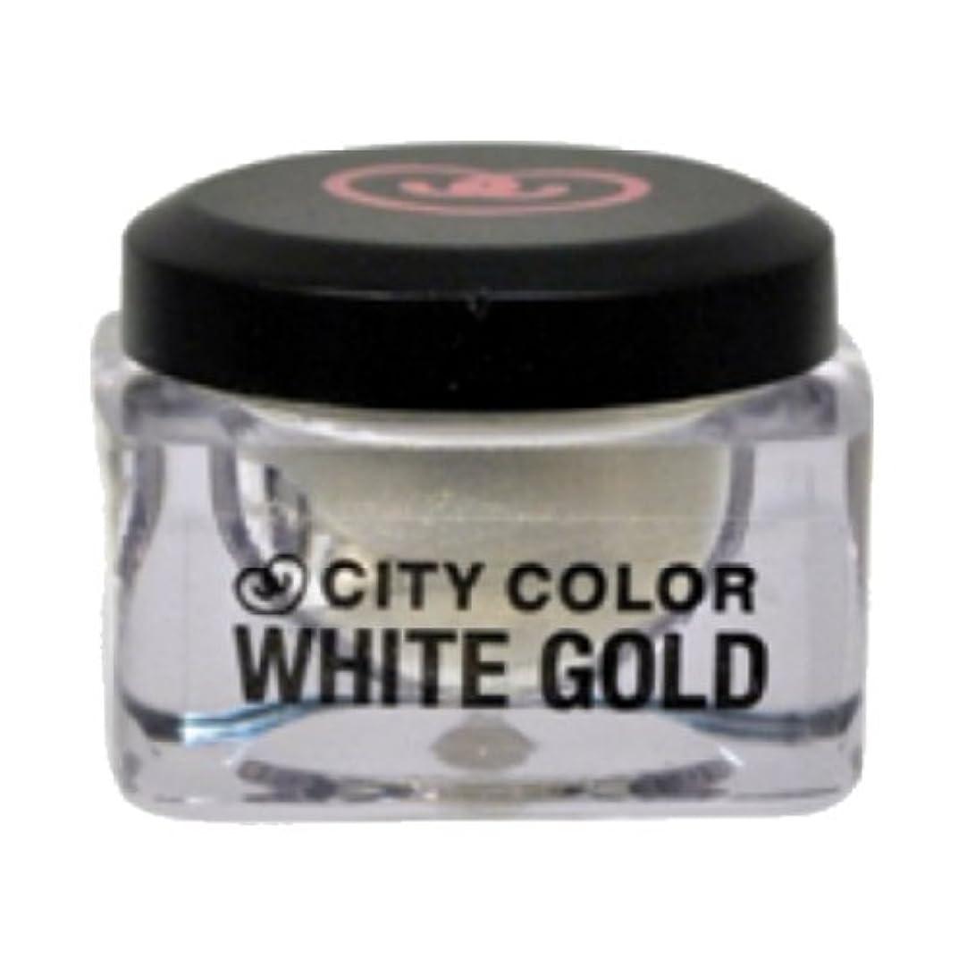 実行流体コンテンツ(3 Pack) CITY COLOR Shadow and Highlight Mousse - White Gold (並行輸入品)