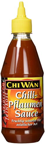 Chi Wán Chili Pflaumensauce Squeeze Flasche, 2er Pack (2 x 430 ml)