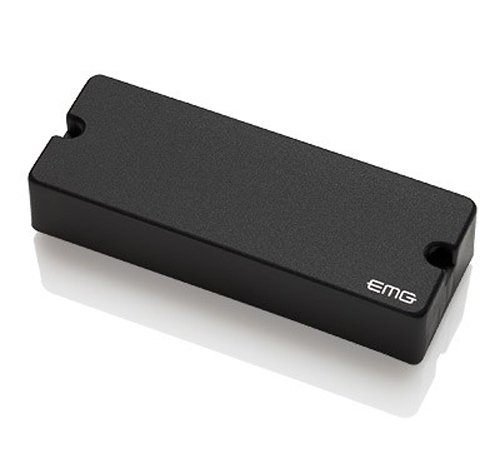 EMG 40DC Active Ceramic 5-String P-Bass Guitar Pickup, Black