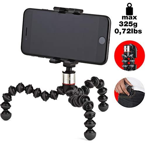JOBY JB01491-0WW GripTight ONE + GP statief universele mobiele telefoon houder + GorillaPod Flexi-statief (geschikt voor smartphone/iPhone)