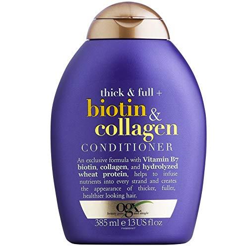 Condicionador Biotin & Collagen, OGX, 385 ml