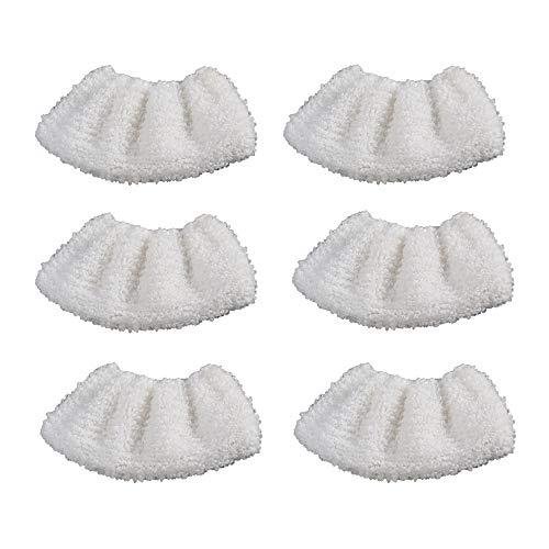 DEYF 6 Mikrofasertuch-Set Mikrofasertuch-Abdecktuch für die Kärcher SC Cleaner Handdüse 3,5€/Stück