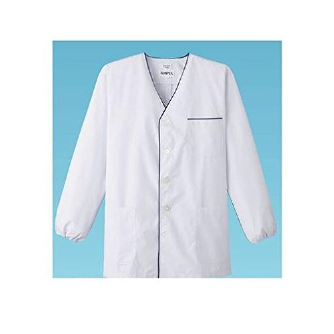 皮肉な農学拡張GT08841 男性用デザイン白衣?長袖 FA-375 M (ホワイト)