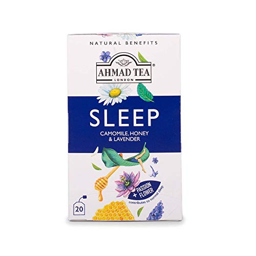 Ahmad Tea Camomile, Honey & Lavender 'Sleep' Infusion - 20 Teabags, 500 g