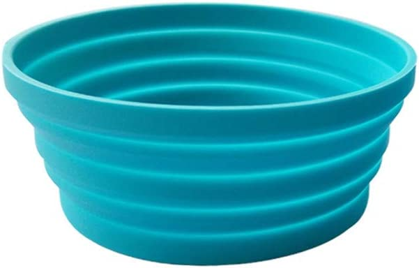 Manufacturer regenerated product Ecoart Silicone Expandable Collapsible Bowl for H Department store Travel Camping