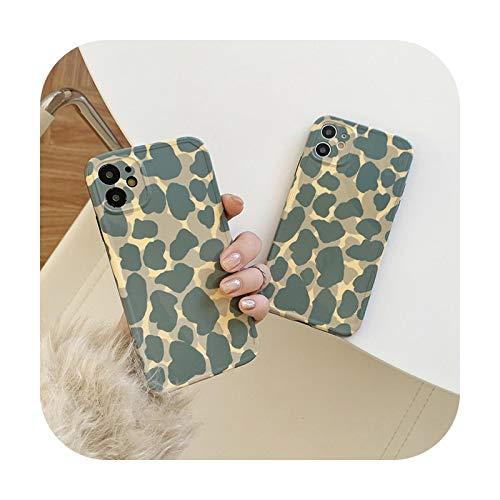 Funda para iPhone SE 2020 11 12 Pro XR X XS Max 7 8 Plus con estampado de leopardo