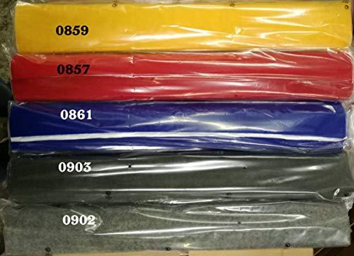 Moqueta Adhesiva 0857 Color Rojo 150 x 70 cm. Producto Nuevo.
