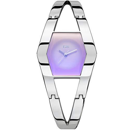 STORM London Zenie Lazer Violett, Damenuhr, 3 bar Wasserdicht, Edelstahlgehäuse, Mineralglas, 47433/LV