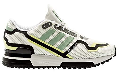 adidas originals ZX 750 HD, Footwear White-Green Tint-Core Black, 4
