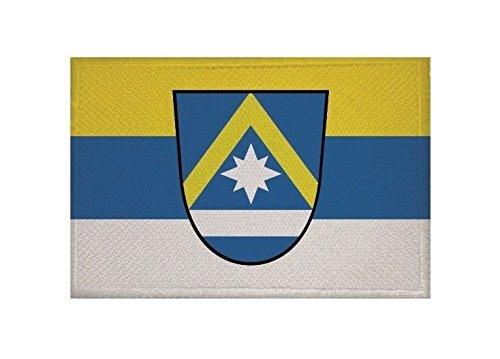 U24 Aufnäher Poing Fahne Flagge Aufbügler Patch 9 x 6 cm