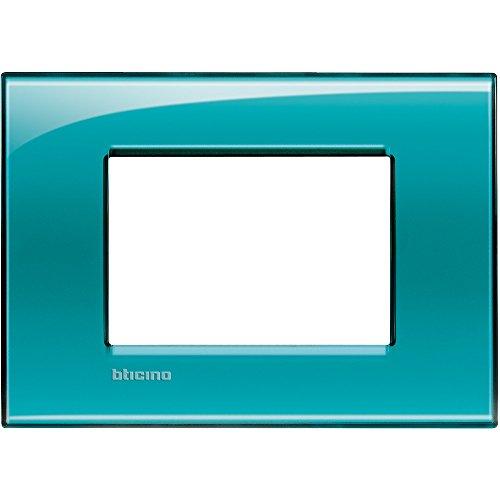 Bticino Livinglight Lna4803Vd–Ll-placca 3M Verde profondo