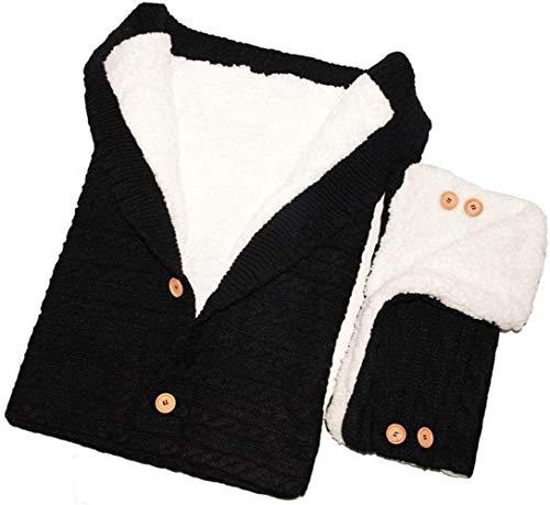 HXCH Saco de dormir universal para cochecito de bebé, apto para la mayoría de los cochecitos de bebé, impermeable, antideslizante, forro polar suave, bolsa de banderines para bebé