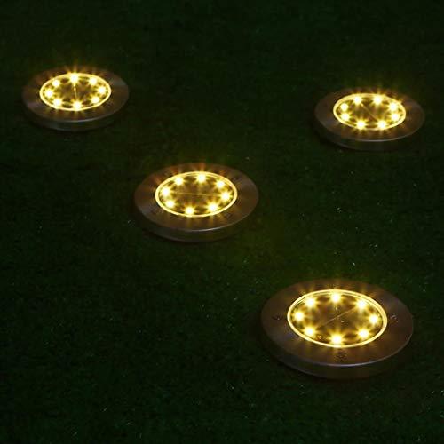 Luci da Giardino a energia Solare da Esterno a 8 LED