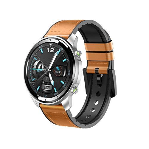 HQFC Smartwatch, fitnessarmband tracker volledig touchscreen horloge waterdicht polshorloge smartwatch met stappenteller, hartslagmeter, stopwatch voor dames en kinderen, sporthorloge voor iOS en Android