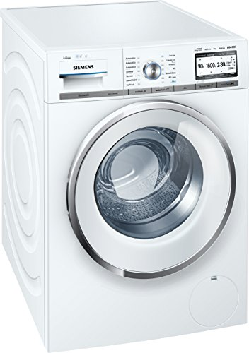Siemens iQ800 WMH6Y849IT Libera installazione Carica frontale 9kg 1600Giri/min A+++ Bianco lavatrice