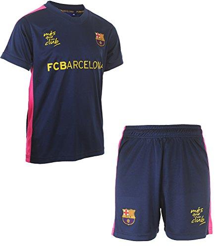 Fc Barcelone Maillot + Short Barca - Collection Officielle Taille Enfant garçon 10 Ans
