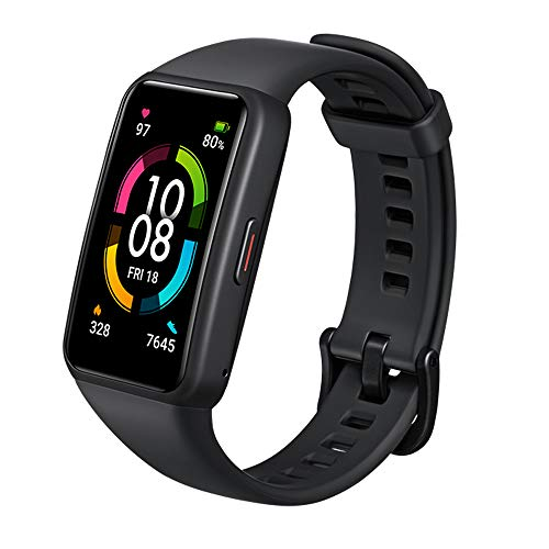 Honor Band 6 Smart Wristband1.47' AMOLED Colorful Touch ScreenWatch Blood Oxygen SpO2 Heart Rate Sleep Monitor10...