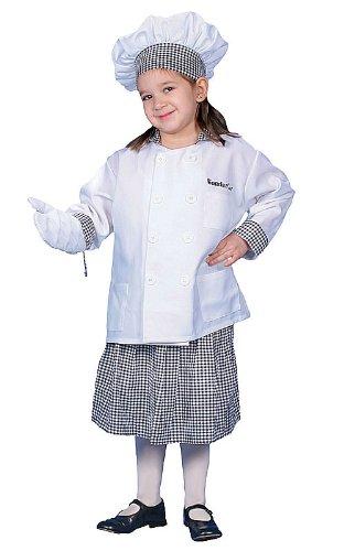 Dress Up America Costume de chef de luxe avec jupe Dress Up Costume Set
