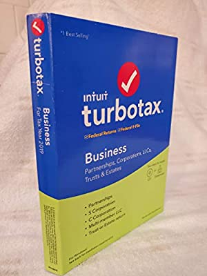 Turbotax 2019 Business Tax Software CD [PC Disc] [Old Version]