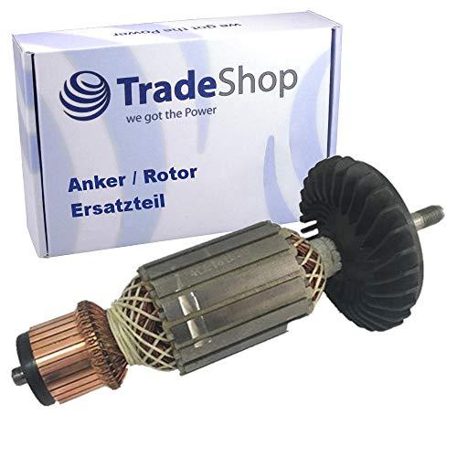 Anker Rotor Motor Ersatzteil mit Lüfter für Bosch Winkelschleifer GWS 23-230 0 601 754 003, 0 601 754 004, 0 601 754 006, 0 601 754 008