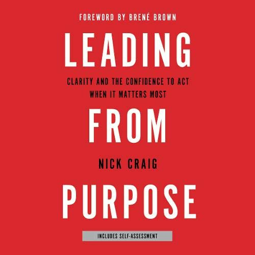 Couverture de Leading from Purpose