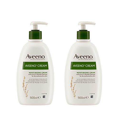 Aveeno Moisturising Cream Daily Care 500ml Pack of 2
