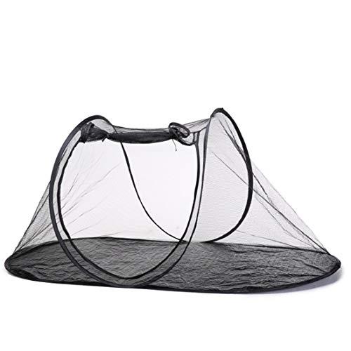GXY Chien Cage Pliable Stockage en Plein Air Animal Tente Chat Chien Voyage en Plein Air pour Animaux De Compagnie Cage Pet Waterloo (Couleur : XBD176 Oval Tent Green Black Net)