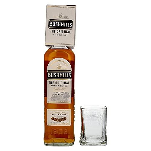 Bushmills Triple Distilled Irish Whiskey 40% Vol. 1L With Glass - 1000 ml
