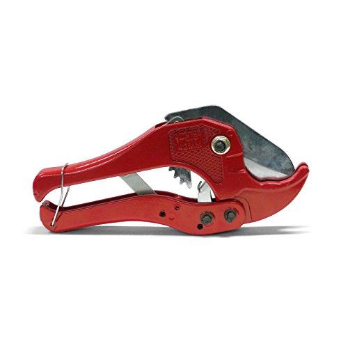 Pipetec RS40 Automatik Rohrschere Rohrschneider Rohrabschneider Schlauchschneider Schlauchschere mit Ratsche für Mehrschicht-Alu-Verbundrohr bis 42 mm