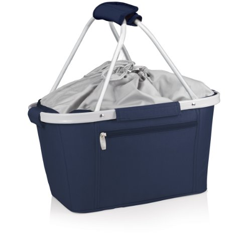 Picnic Time Metro Insulated Basket, Navy