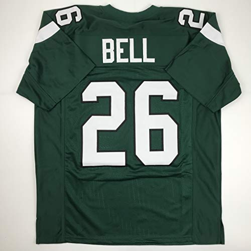 Unsigned Le'Veon LeVeon Bell New York Green Custom Stitched Football Jersey Size XL New No Brands/Logos