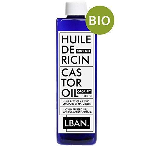 Huile de Ricin 100% BIO & Pure - LBAN -...